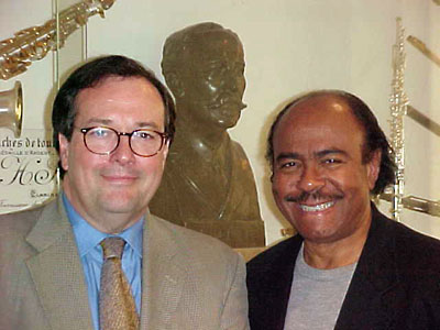 Benny Golson and Patrick Selmer